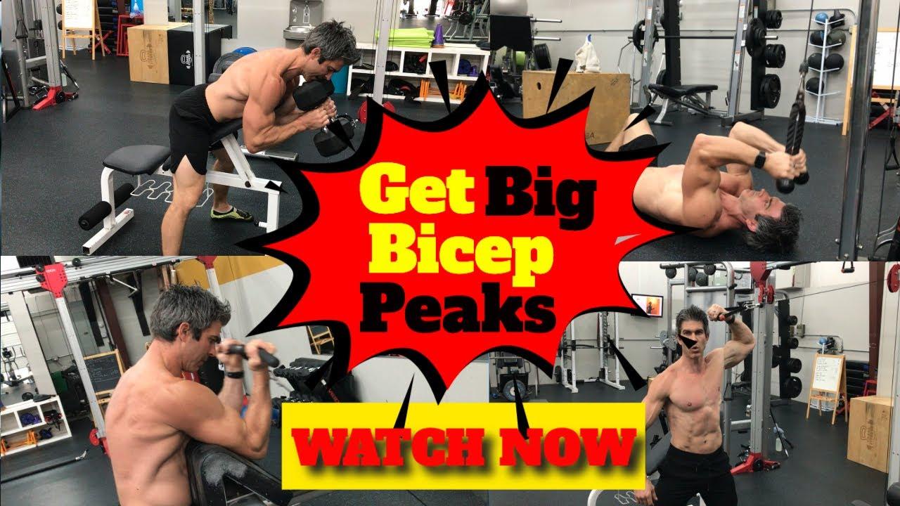 Bicep Peak Workout